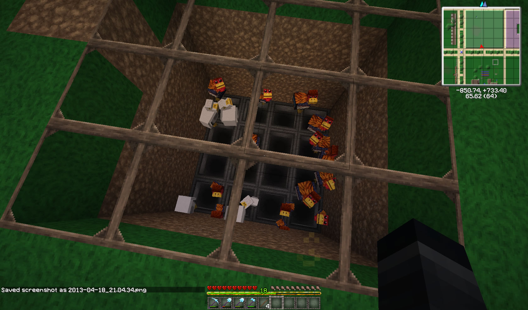 Why are my Chickens dying? | Empire Minecraft