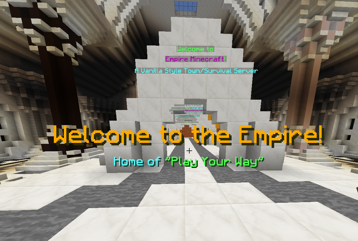 Empire Minecraft Servers - No Griefing